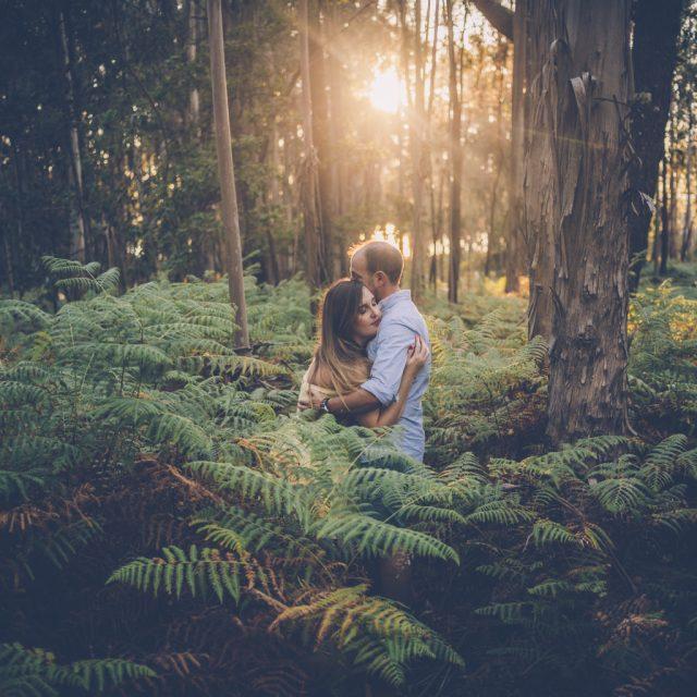 Fotógrafo de pareja Pontevedra :: Fotógrafo romántico :: save the date :: fotógrafo de bodas galicia :: fotógrafo de bodas en Pontevedra :: Puesta de sol :: fotógrafo romántico