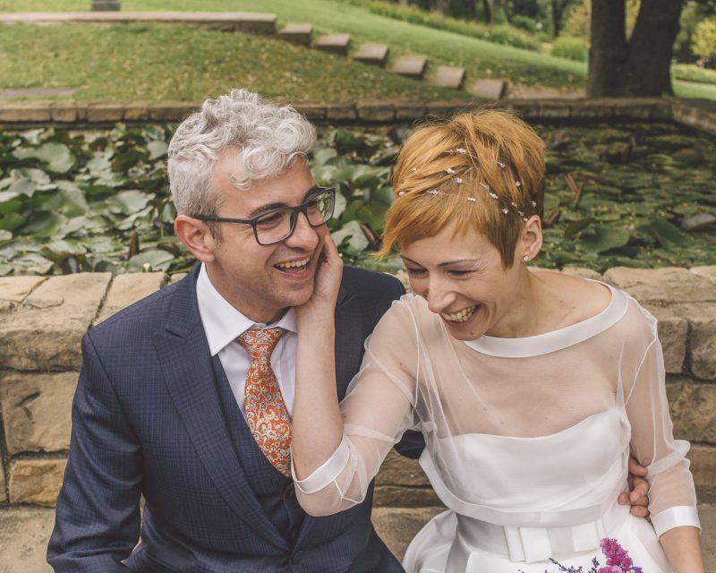 fotógrafos boda barcelona :: Boda en Barcelona :: Boda en l'esferic Montjuic :: boda sofisticada :: Boda urbana
