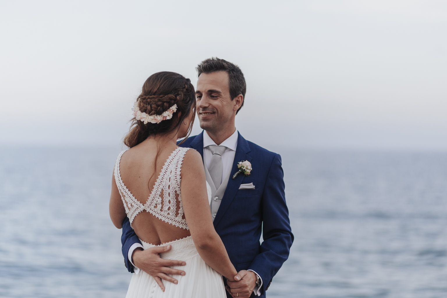 fotógrafo boda barcelona :: boda en la playa :: barcelona wedding photographer :: destination wedding :: dblanc