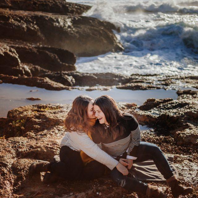 Fotógrafo de pareja Barcelona :: Reportaje fotos en Altafulla :: fotógrafo en Tarragona :: Fotógrafo de bodas gays :: fotógrafo de pareja lesbiana