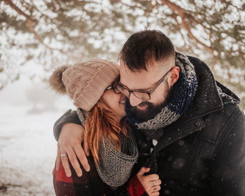 fotógrafo de pareja barcelona :: preboda en la nieve :: reportaje de pareja en la nieve :: fotógrafo de preboda :: fotógrafo boda barcelona :: barcelona wedding photographer