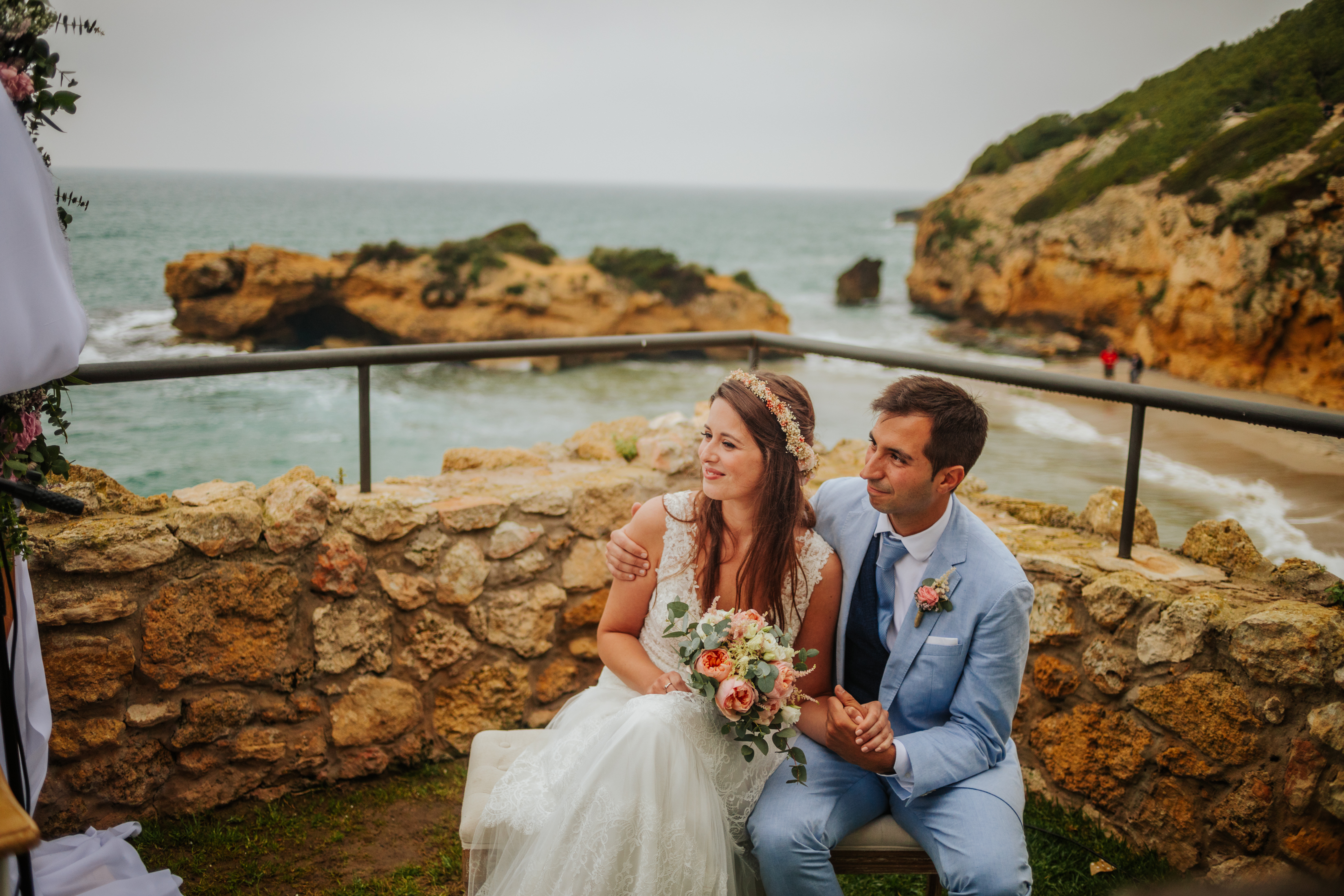 Fotógrafo de boda en Tamarit :: Fotógrafo de bodas Barcelona :: Fotógrafo de bodas Tarragona :: Boda en un castillo :: Boda Altafulla