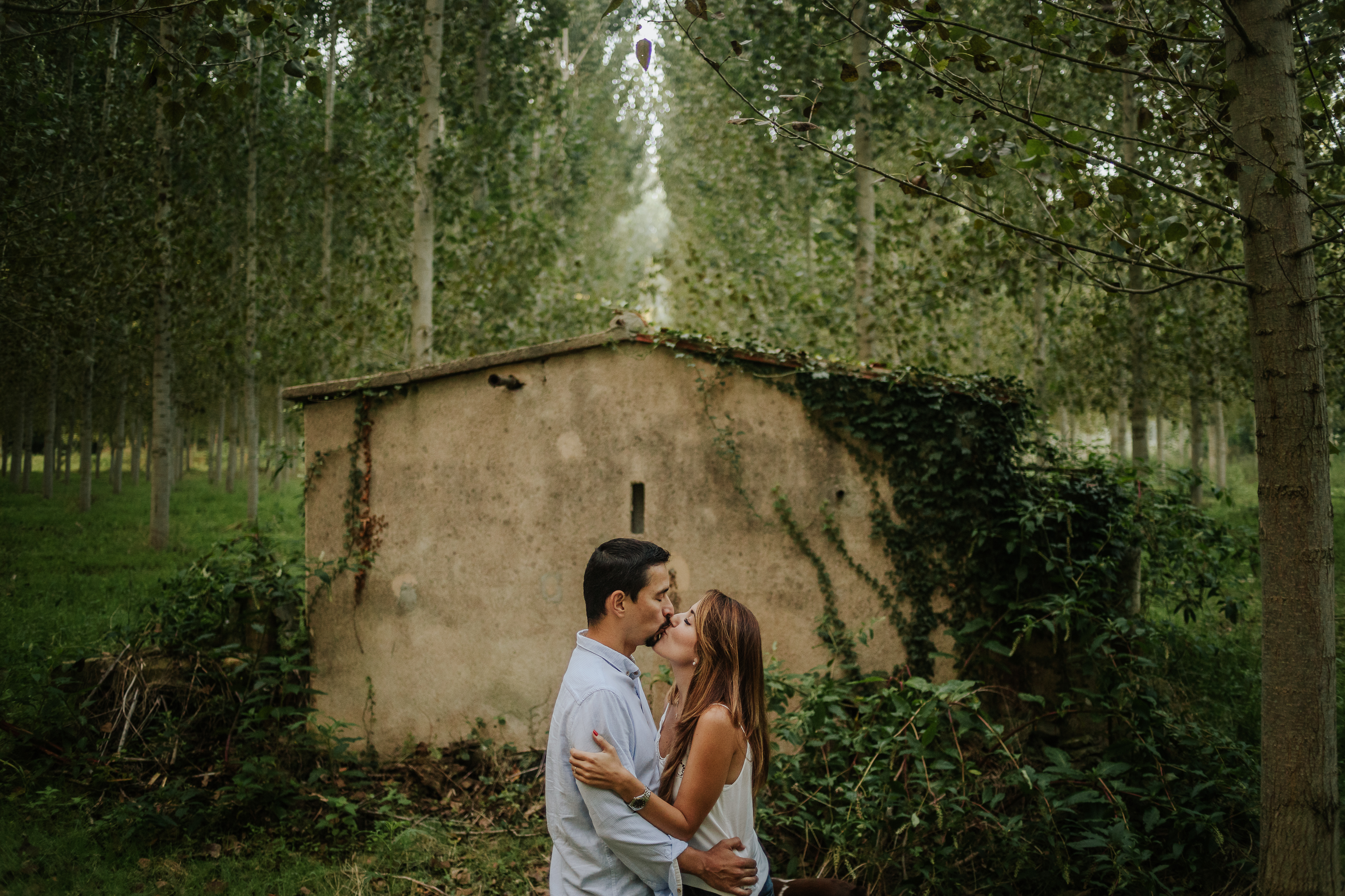 fotógrafo de pareja :: Fotógrafo de preboda :: Preboda en el bosque :: Preboda en el campo :: fotógrafo de bodas :: Wedding photographer :: Barcelona wedding photographer :: Reportaje de pareja