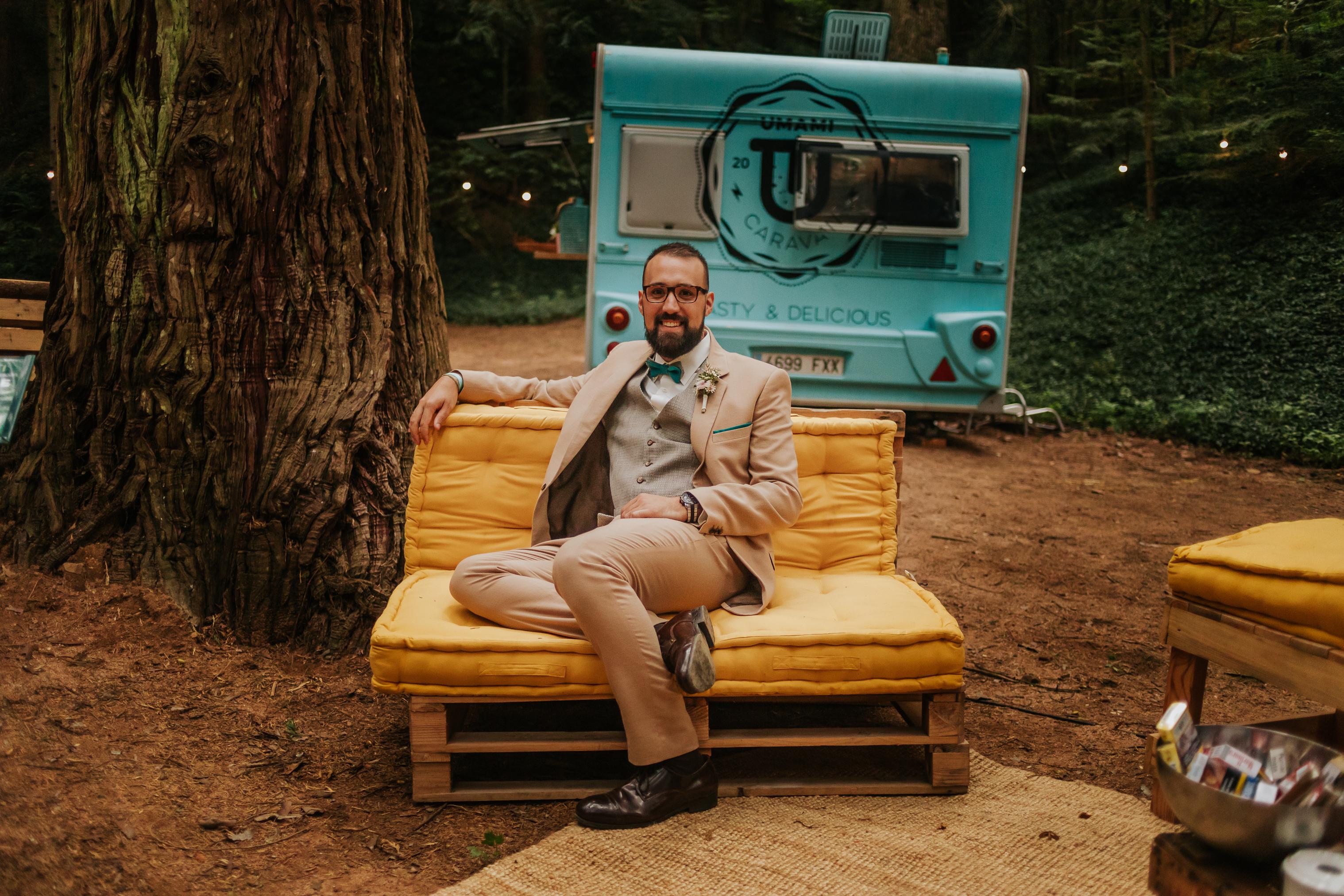 fotógrafo de boda barcelona :: Boda en el bosque :: boda nomada :: Casaments al bosc :: Nòmades :: Country wedding :: Boda de cuento :: Boda en espinelves :: arboretum masjoan